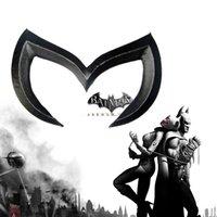 batman car decals - 3D Black Batman Metal Car Decals Emblem Badge Sticker For Mazda Car