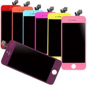 Wholesale For iphone S C Colorfull Display Digitiz LCD Screen Touch Before For Iphone G C
