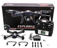 Top Quality! Drones pour Caméra de vente Drones DM007 2.4Ghz 4-Axis Gyro RC Quadcopter Drone UAV RTF UFO avec 2MP HD Drones Camera Livraison gratuite