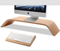 Wholesale Original New Design SAMDI Wooden Holders And Brackets For IMAC And Other Computer Display ROHS CE With Package