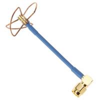 antenna year - FPV Ghz Blade Circular Polarized Clover Leaf Antenna High Gain Aerial for Transmitter AFD_B16