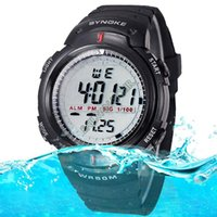 Wholesale New Men Digital Military Watch Dive Swim Dress Sport Watches Fashion Outdoor Men Wristwatches