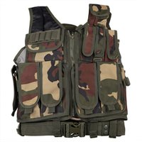 airsoft safety gear - Military Tactical ACU Vest Army Paintball Gear Safety Vest Airsoft Tactical Hunting CS Vest