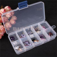 bead storage - Brand Designer Mini Storage Box Bins for Jewelry Portable Cheap Plastics Beads Organizer Drop Shipping Adjustable boxes