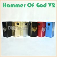 battery blank - price Hammer Of God V2 box mod coming with point blank box mod clone works with four battery agents wanted
