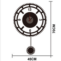 artistic lighting design - ZY822 new design Removable DIY Clock Artistic Wall Hanging Clocks Mechanism Wall Sticker zy822