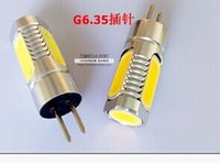 Wholesale G6 Pin base W LED High Power Light Bulb DC V SSY CW for room light