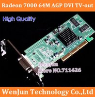 Wholesale New ATI Radeon M AGP DVI TV out video graphic card NEW low end AGP X Graphic Card order lt no track