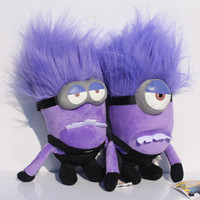 minions - DESPICABLE ME PURPLE EVIL MINION quot D PLUSH DOLL EMS
