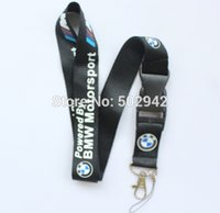 Wholesale New Hot Motorcycle Lanyard MP3 cell phone keychains Neck Strap Lanyard