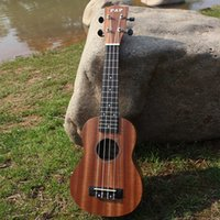 Wholesale 21 quot Mini Ukelele Ukulele Sapele Rosewood Fretboard Stringed Instrument Strings Acoustic Instrument I874