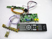 audio controller driver - HDMI AV VGA audio USB can play the video LCD Driver Controller Board Kit for Panel LD101WH2 SL LCD Panel Drive control suit