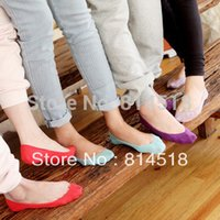 anklet sox - New summer candy color women s invisible sock slippers lady s sexy socks anklet sox footwear