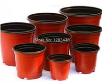 Wholesale Plastic Flower Plant Nursery Pots for Plants Cuttings Seedlings Indoor Planter Pots Diameter mm