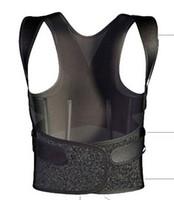 Wholesale Adjustable Magnetic Posture Corrector Shoulder Back Support Belt Brace Therapy