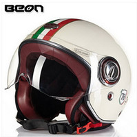half face helmet - 2015 New Authentic Dutch BEON fashion Harley style helmets winter half face motorcycle safety helmet made of FRP B for men and women