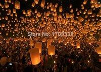 Cheap SKY Balloon Kongming wishing Lanterns,Flying Light Halloween Lights,Chinese sky Lantern