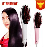 Wholesale Original High Qualtiy Beautiful Star Hair Straightener Straightening Irons Hair Styling Tool With LCD Electronice Temperature