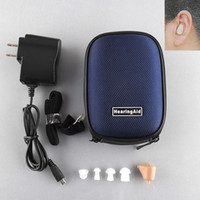 adjustable candle - New Rechargeable Digital Mini In Ear Hearing Aid Adjustable Sound Amplifier BOX Audiphone Acousticon