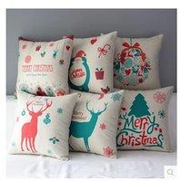 Wholesale 220 Designs European Throw Pillow Cases Star Wars Pillow Covers Cartoon Minions Cushion Covers Linen Christmas Pillow Case Cushion Cover