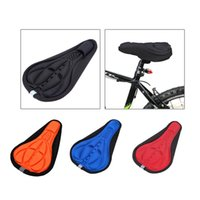 Wholesale New Bicycle Saddle Cover Airy Bike Saddle Cover Cushion D Comfortable Seat Saddle Cover for Mountain Bike