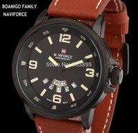 Wholesale watches men luxury brand military army sports watches Quartz Watch Leather band wristwatches relogio masculino