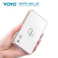 atom box - Vensmile Latest VOYO V2 Mini PC BOX Windows OS Quad Core Intel Atom Z3735 with GB eMMC GB SSD Bluetooth