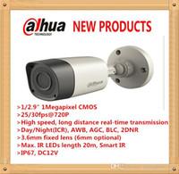 Wholesale DAHUA MP P Waterproof HDCVI Metal IR Bullet Camera with Fixed Lens Original English Version without Logo HAC HFW1100RM