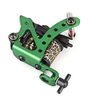 Wholesale x Professional Green Tattoo Machine Gun for Shader Liner Wrap Coils order lt no track