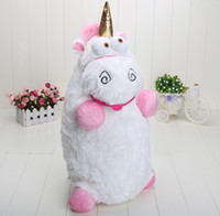 big pillows - 22 inch Despicable Me Fluffy Unicorn Plush Pillow Toy Doll big Fluffy figure gift for kids
