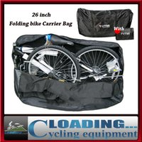 bicycle carry bags - new quot folding bike carrier bag cycling bicycle vehicle package storage waterproof wearable portable loading pack carry nylon