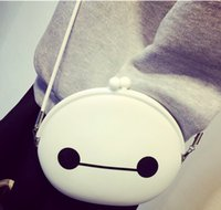 Wholesale 2015 New Big Hero Baymax Cross Body Fashion Bags Shoulder Bags