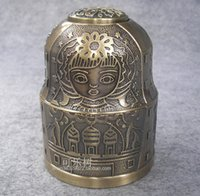 antique toothpick holders - antique embossed zinc alloy metal toothpick holder box organizer tableware home decoration