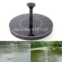 Wholesale 7V Floating Water Pump Solar Panel Garden Plants Watering Power Fountain Pool