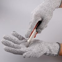 work gloves - Kevlar glove Cut Resistant Level working Protective Gloves Cut resistant Anti Abrasion Safety Gloves New arrival A5