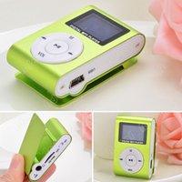 green screen - Green Mini MP3 Player Clip USB FM Radio LCD Screen Support for GB Micro SD SV004272