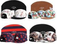 Wholesale 2015 New Arrive Cayler Sons panel cap cheap Diamond snapback hats baseball caps Floral panel hat accept