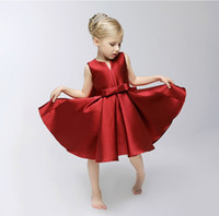 beautiful princess costumes - New Arrival Family Clothes Mother And Daughter Cotton Dresses Children Costumes Beautiful Princess V neck Mum Kids Party Dressy Red A4663