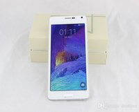 Wholesale 1 Note quot MTK6592 Octa Core N9100 Note4 HD Android GPS MP ROM GB G WCDMA Unlocked Smart Cell Phone Smartphone