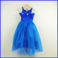 Wholesale DHL Girls Cinderella Halloween Cosplay Costume Cartoon Movie Princess Kids Dress