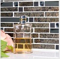 Wholesale Crystal glass Mosaic pool kitchen wall brick and stone wall brick bathroom tile stone Mosaic glass Mosaic tiles