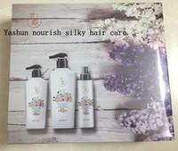 Wholesale 2016 New Rushed Xampu Brazilian Keratin Hair Steamer Sibu Group Nourishing Silky Care Kit Sets Shampoo Conditioner Spray