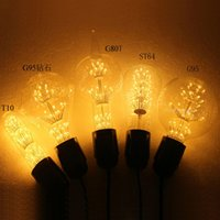 Wholesale Edison light bulb LED light bulb E27 mouth invites Starry KTV bar retro decorative lighting ST64