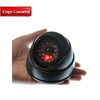 Wholesale IR Dome Fake Dummy CCTV Security Surveillance Camera LED Record Light