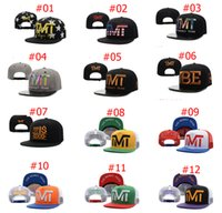 Cheap Wholesale 54 styles TMT Snapback hats caps TBE usd dollar star flag fashion men adjustable baseball cap shipping in box freeshiping