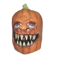 Wholesale 2014 hot sale High Quality Cosplay eco friendly latex Halloween Pumpkins mask