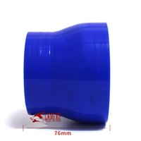 Wholesale 63 MM inner diameter of the high temperature blue car modified intake SARCO Sport Silicone joints become straight tube
