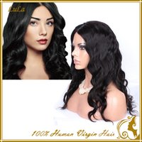 cheap black hair - Cheap Human Hair Wigs Lace Front Full Lace for Black Women from Brazilian Body Wave Virgin Hair with Baby Hair