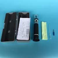 Wholesale Cheapest Hand Held ATC Salinity Salt Water Refractometer for Aquarium Fish Tank Seawater Hydrometer Portable Hard Case