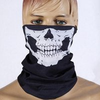 Wholesale Skull Bandana Bike Motorcycle Helmet Neck Face Mask Paintball Ski Sport Headband
